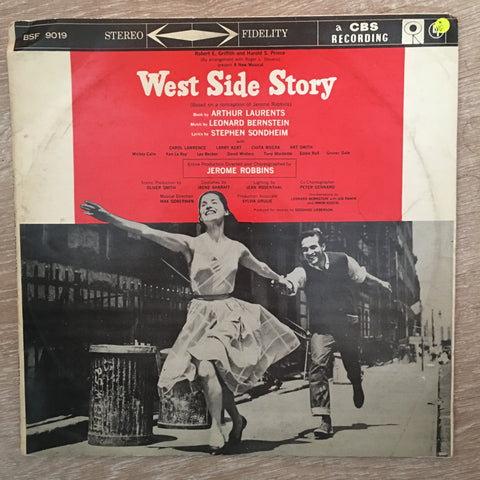 Various ‎– West Side Story - Leonard Bernstein - Robert Griffith & Harold Prince - Vinyl LP Record - Opened  - Very-Good Quality (VG)