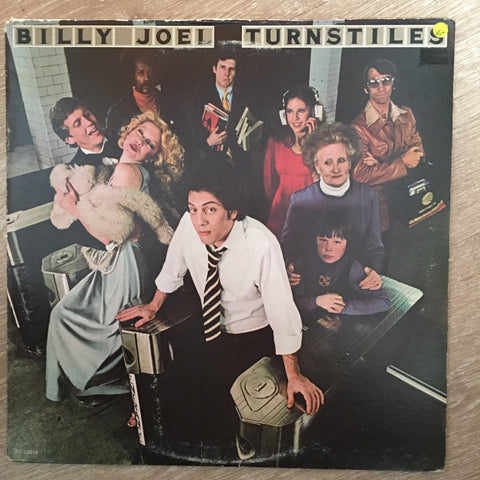 Billy Joel - Turnstiles- Vinyl LP - Opened  - Very-Good+ Quality (VG+)