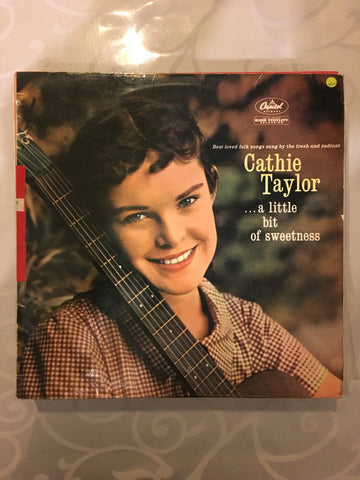 Cathie Taylor - A Little Bit Of Sweetness - Vinyl LP Record - Opened  - Very-Good+ Quality (VG+)