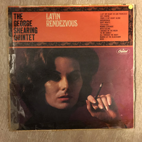 George Shearing Quintet ‎– Latin Rendezvous - Vinyl LP Record - Opened  - Very-Good Quality (VG)