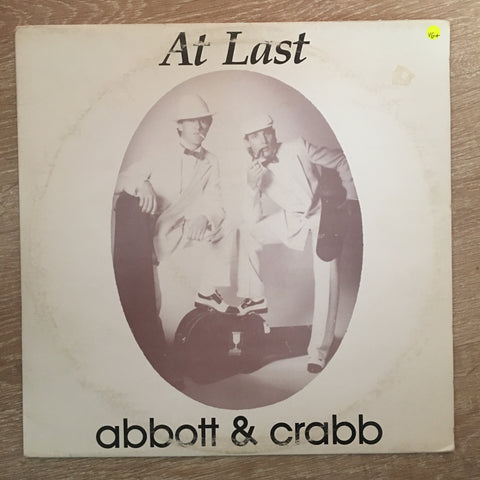 Abbott & Crabb - At Last - Vinyl LP Record - Opened  - Very-Good+ Quality (VG+)
