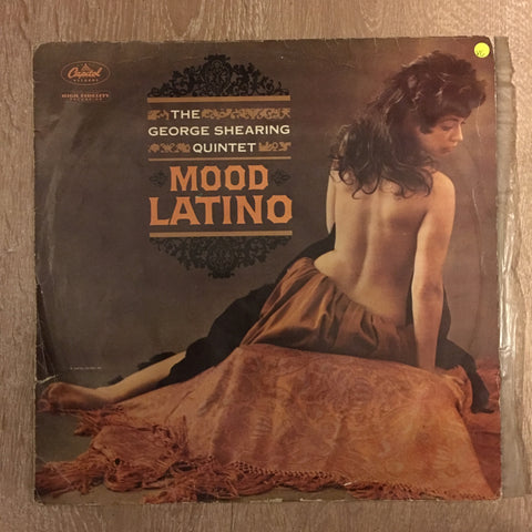 The George Shearing Quintet ‎– Mood Latino - Vinyl LP Record - Opened  - Very-Good Quality (VG)