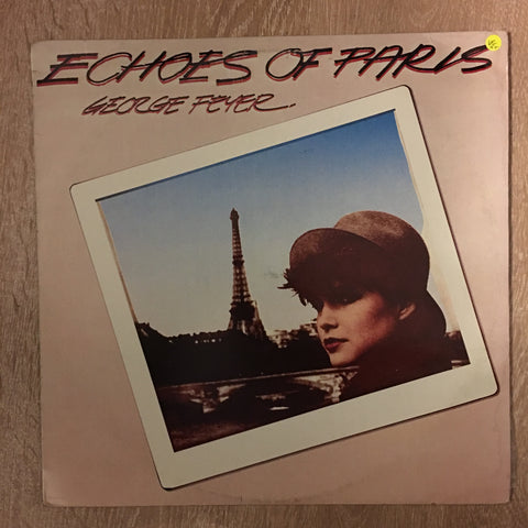 George Feyer ‎– Echoes Of Paris - Vinyl LP Record - Opened  - Very-Good+ Quality (VG+)