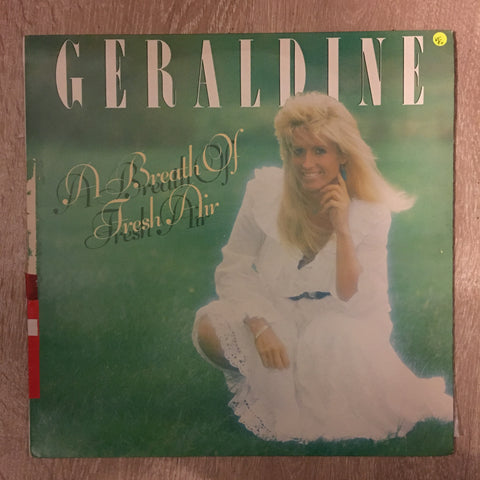 Geraldine  - A Breath Of Fresh Air - Vinyl LP Record - Opened  - Very-Good+ Quality (VG+) - C-Plan Audio