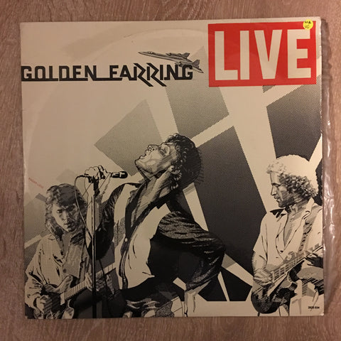 Golden Earring ‎– Live - Double Vinyl LP Record - Opened  - Very-Good Quality (VG)