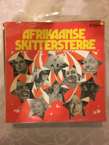 Afrikaanse Skittersterre - Vinyl LP Record - Opened  - Very-Good+ Quality (VG+)