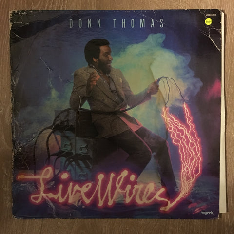 Donn Thomas ‎– Live Wires - Vinyl LP Record - Opened  - Very-Good+ Quality (VG+) - C-Plan Audio