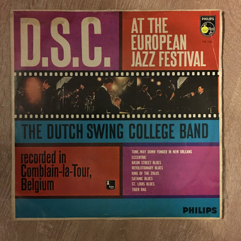 Dutch Swing College Band ‎– D.S.C. At The European Jazz Festival - Vinyl LP Record - Opened  - Very-Good+ Quality (VG+)