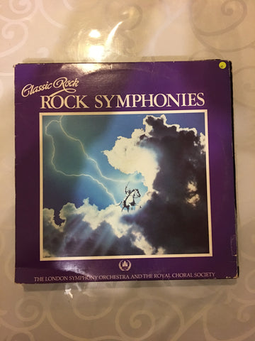 Classic Rock - Rock Symphonies -  Vinyl LP Record - Opened  - Very-Good Quality (VG)