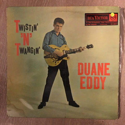 Duane Eddy ‎– Twistin' 'N' Twangin' - Vinyl LP Record - Opened  - Very-Good Quality (VG)