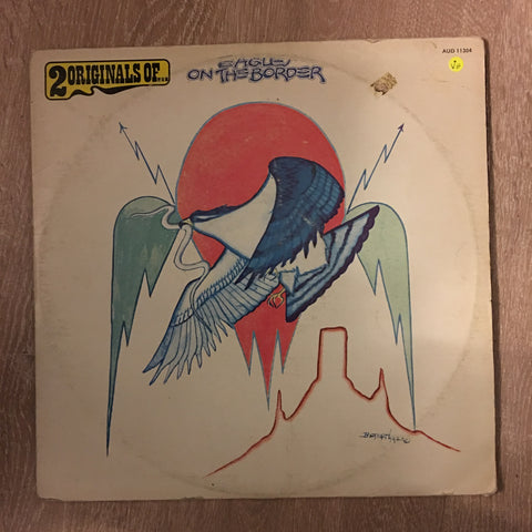 Eagles - On The Border & One of These Nights Double Album  - Double Vinyl LP Record - Opened  - Very-Good Quality (VG) - C-Plan Audio