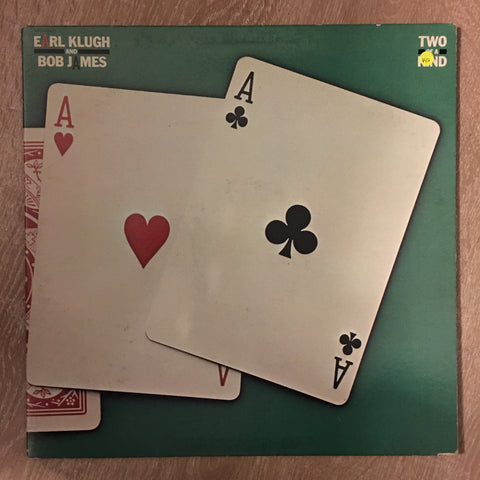 Earl Klugh and Bob James - Two OF A Kind -  Vinyl LP Record - Opened  - Very-Good Quality (VG) - C-Plan Audio