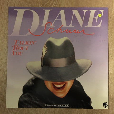 Diane Schuur - Talkin' 'Bout You -  Vinyl LP New - Sealed