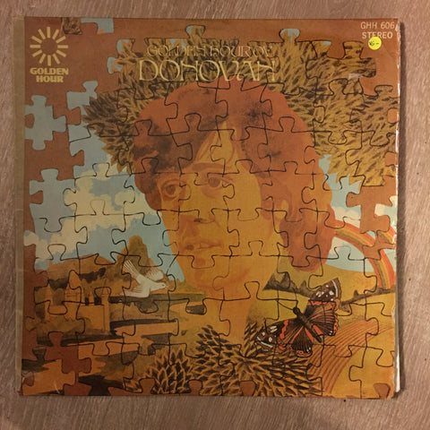 Golden Hour Of Donovan - Vinyl LP Record - Opened  - Very-Good- Quality (VG-) - C-Plan Audio