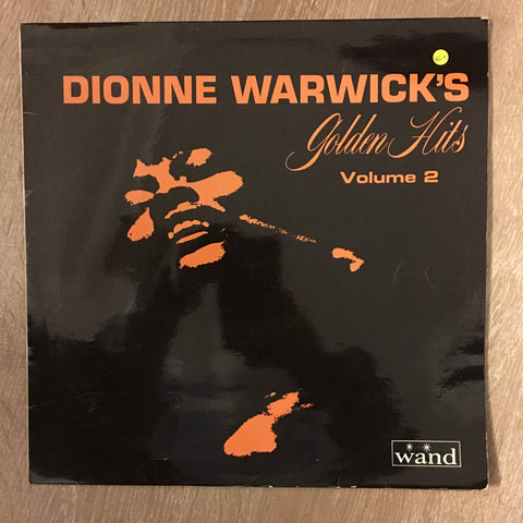 Dionne Warwick Golden Hits Vol 2 -  Vinyl LP Record - Opened  - Very-Good+ Quality (VG+)