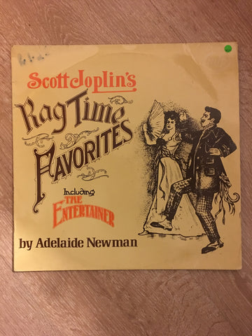 Adelaide Newman ‎– Scott Joplin's Ragtime Favourites - Vinyl LP - Opened  - Very-Good+ Quality (VG+) - C-Plan Audio