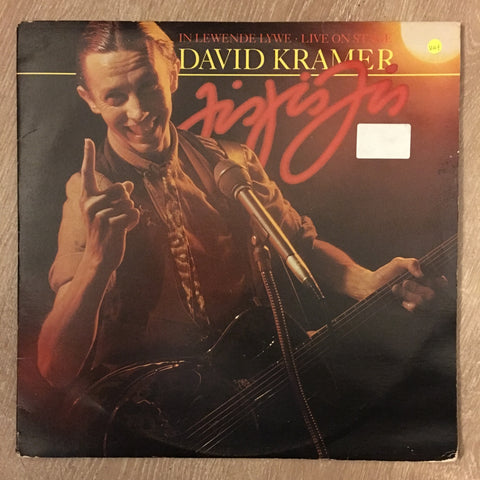 David Kramer - Live On Stage -  Vinyl LP Record - Opened  - Very-Good+ Quality (VG+) - C-Plan Audio
