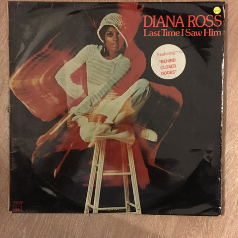 Diana Ross ‎– Last Time I Saw Him -  Vinyl LP Record - Opened  - Very-Good+ Quality (VG+) - C-Plan Audio
