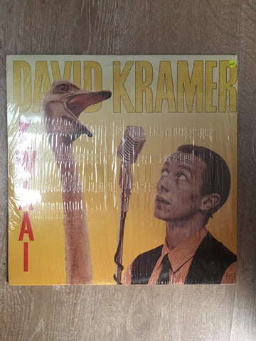 David Kramer -  Vinyl LP Record - Opened  - Very-Good+ Quality (VG+) - C-Plan Audio