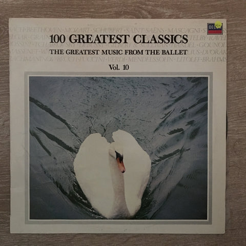 100 Greatest Classics - Vol 10 ‎– Vinyl LP Record - Opened  - Very-Good+ Quality (VG+)