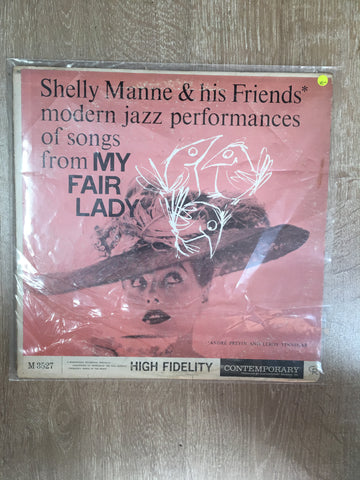 Shelly Manne and His Friends - Modern Jazz Performances of Songs from My  Fair Lady - Vinyl LP Record - Opened - Very-Good- Quality (VG-)