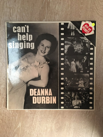 Deanna Durbin - Can't Help Singing - Vinyl LP Record - Opened  - Very-Good+ Quality (VG+) - C-Plan Audio
