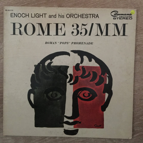 Enoch Light And His Orchestra ‎– Rome 35/MM - Vinyl LP Record  - Opened  - Very-Good+ Quality (VG+)