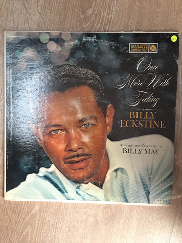 Billy Eckstine ‎– Once More With Feeling‎ – Judy In Love - Vinyl LP Record - Opened  - Very-Good+ Quality (VG+)