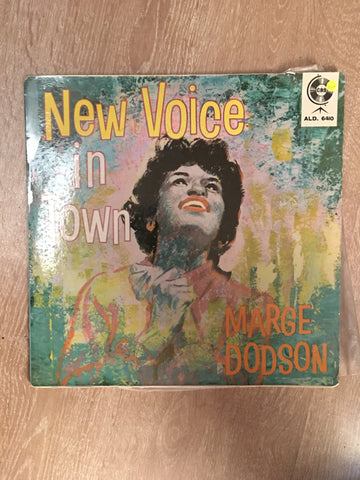 Marge Dodson ‎– New Voice In Town - Vinyl LP Record - Opened  - Very-Good+ Quality (VG+) - C-Plan Audio