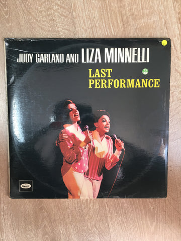 Judy Garland and Liza Minnelli - Last Performance - Vinyl LP Record -  Opened - Very-Good+ Quality (VG+)