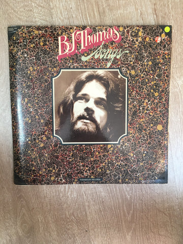 BJ Thomas - Songs - Vinyl LP Record - Opened  - Very-Good+ Quality (VG+)