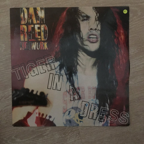 Dan Reed Network - Tiger In A Dress -  Vinyl LP - Opened  - Very-Good+ Quality (VG+)