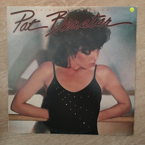 Pat Benatar - Crimes of Passion - Vinyl LP Record - Opened  - Very-Good+ Quality (VG+) - C-Plan Audio