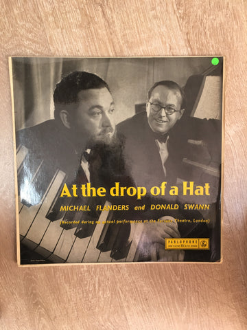 At The Drop of A Hat - Michael Flanders and Donald Swann - Vinyl LP Record - Opened  - Very-Good Quality (VG)