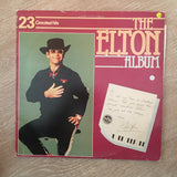 Elton John ‎– The Elton Album - 23 Greatest Hits - Vinyl LP Record - Very-Good Quality (VG) - C-Plan Audio