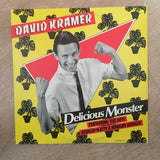 David Kramer -  Delicious Monster - Vinyl LP Record - Opened  - Very-Good+ Quality (VG+) - C-Plan Audio