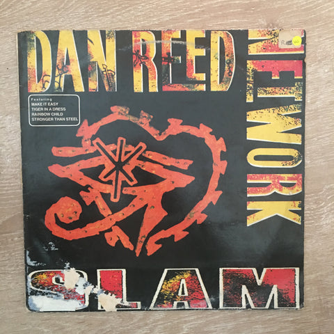 Dan Reed Network - Slam - Vinyl LP Record - Opened  - Very-Good Quality (VG)