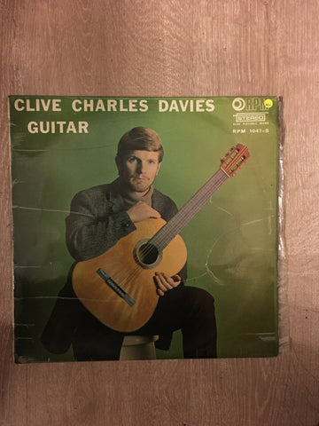 Clive Charles Davies - Guitar - Vinyl LP Record - Opened  - Very-Good+ Quality (VG+)