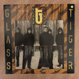 Glass Tiger ‎– The Thin Red Line  - Vinyl LP - Opened  - Very-Good+ Quality (VG+)