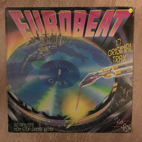 Eurobeat - Vol 1  -Various - Original Artists - Double Vinyl LP Record - Opened  - Very-Good+ Quality (VG+) - C-Plan Audio