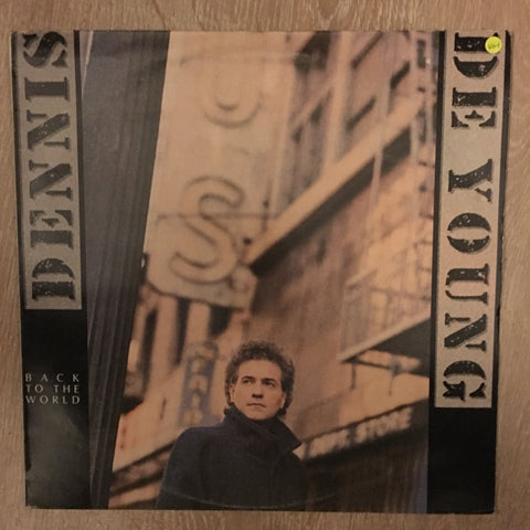 Dennis De Young ‎– Back To The World - Vinyl LP - Opened  - Very-Good+ Quality (VG+)