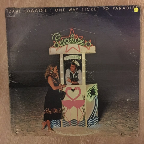 Dave Loggins - One Way Ticket To Paradise -  Vinyl LP Record - Opened  - Very-Good- Quality (VG-) - C-Plan Audio