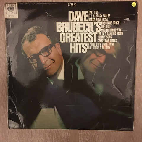 Dave Brubeck ‎– Dave Brubeck's Greatest Hits - Vinyl LP - Opened  - Very-Good+ Quality (VG+)