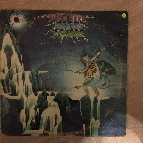Uriah Heep - Demons and Wizards - Vinyl LP Record - Opened - Good Quality  (G)