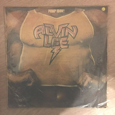 Alvin Lee - Pump Iron - Vinyl LP Record - Opened  - Good Quality (G)
