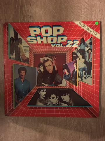 Pop Shop 22 - Vinyl LP Record - Opened  - Very-Good Quality (VG) - C-Plan Audio