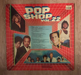 Pop Shop Vol 22 - Original Artists - Double Vinyl LP Record - Opened  - Very-Good Quality (VG) - C-Plan Audio