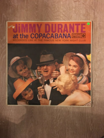 Jimmy Durante at the Copacabana - Vinyl LP Record - Opened  - Very-Good Quality (VG) - C-Plan Audio