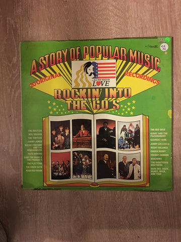 A Story of Popular Music - Rockin Into the 60's - 20 Original Recordings - Vinyl LP Record - Opened  - Very-Good Quality (VG) - C-Plan Audio