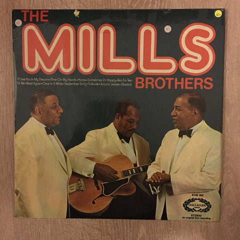 The Mills Brothers - Vinyl LP - Opened  - Very-Good+ Quality (VG+) - C-Plan Audio